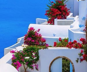background, beautiful, and Greece image