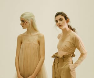 beige, brown, and chic image