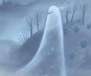 ghost, illustration, and marie muravski image
