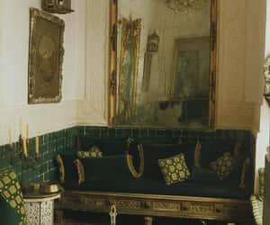 antique, interior decorating, and archive image
