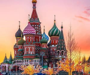 architecture, moscow, and travel image