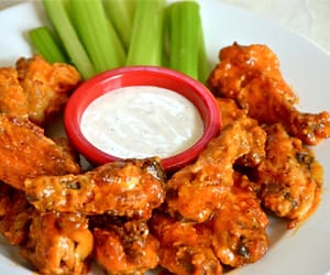 buffalo, Chicken, and food image