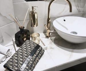 bathroom, decor, and dior image