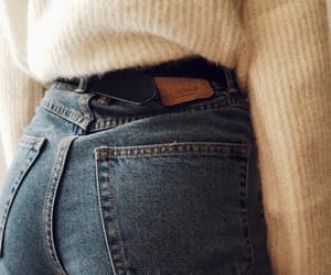 jeans, jumper, and knit image