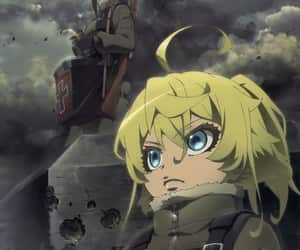 anime, wallpaper, and youjo senki image
