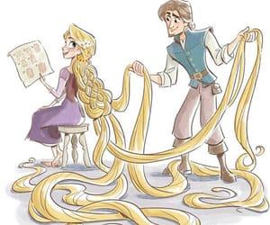 art, disney, and rapunzel image