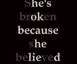 boy, broken, and brokenheart image