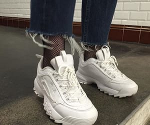 aesthetic, Fila, and indie image