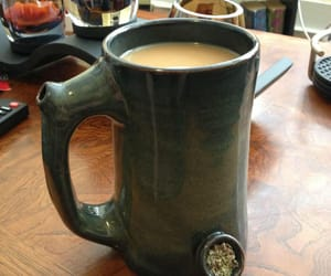 weed and coffee image