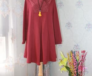 etsy, dress for women, and long sleeve image