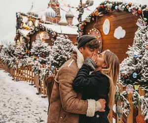 winter, christmas, and love image