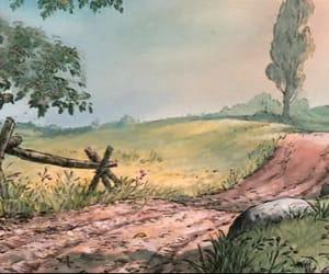 animation, nature, and background image