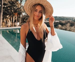 fashion, summer, and swimsuit image