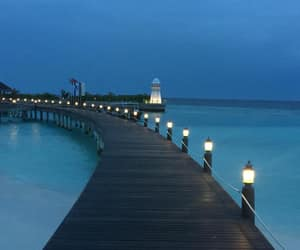 evening, Maldives, and ocean image
