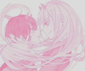anime, hiro, and anime couple image