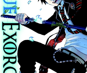 blue exorcist, anime, and fairy tail image
