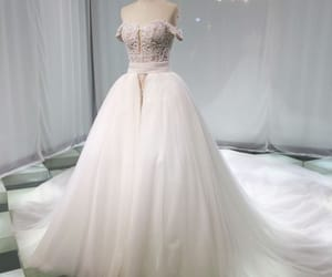 bridal gown, bride, and bridal image