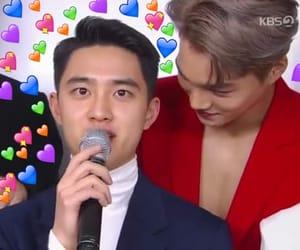 hearts, tags, and jongin kai image