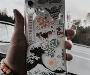 phone, phone case, and case image