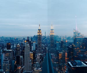 city, new york, and ny image
