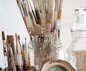 Brushes, art, and photography image