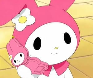 kawaii, my melody, and cute image
