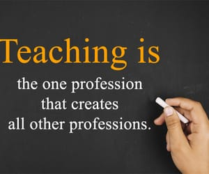 quotes, teacher, and teaching image