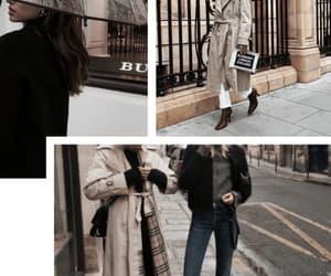 Burberry, fashion, and rain image