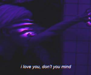 love, purple, and aesthetic image