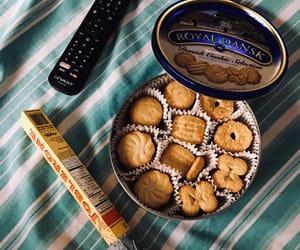 chocolate, cookie, and danish image