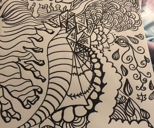 art, death, and doodles image