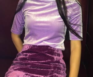 purple, fashion, and style image