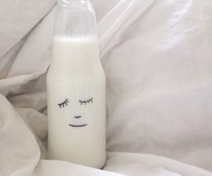 aesthetic, milk, and white image