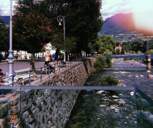 bridge, water, and italia image
