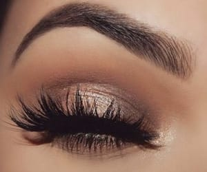 eyes, lashes, and makeup image
