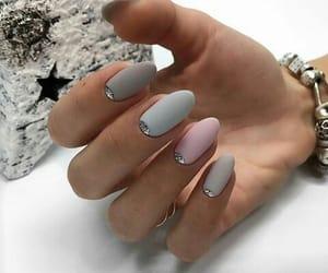 gray, nails, and matt image