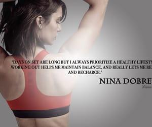 design, nina dobrev wallpaper, and health image