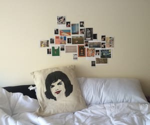bed, cozy, and dorm image
