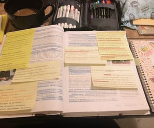 notes, psych, and study image