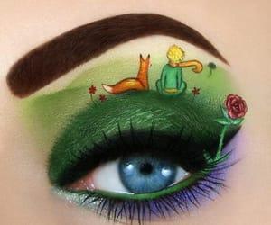 eyes, make-up, and makeup image