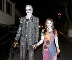 costume, couple, and Halloween image