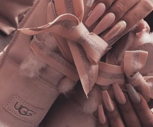 pink nails, perfect nails, and nail inspo image