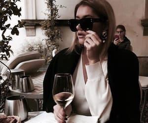 fashion, girl, and sunglasses image