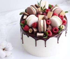 cake and fruit image