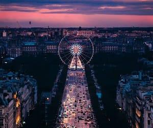 travel, beautiful, and sunset image
