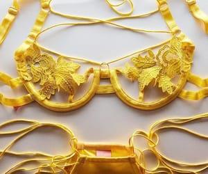 fashion, sexy, and yellow image