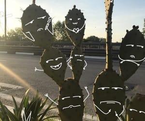 art, cactus, and interesting image