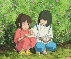 anime, love, and spirited away image