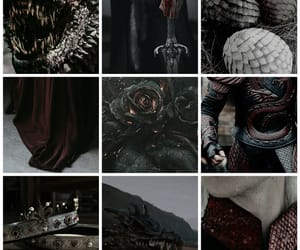 aesthetic, Collage, and house targaryen image