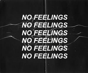 quotes, no feelings, and tumblr image